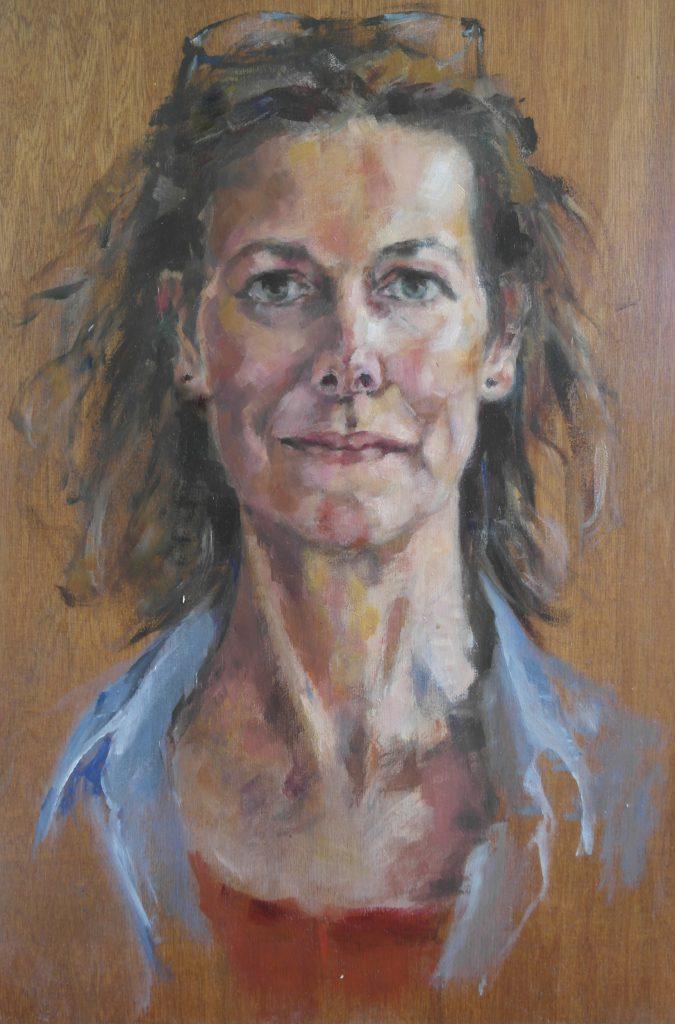 Zelfportret-helene-gandolfi-en-face